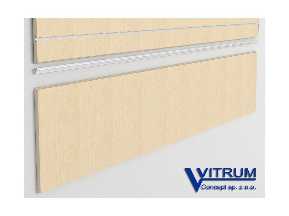 Panel ścienny cokołowy klon 200x45 cm