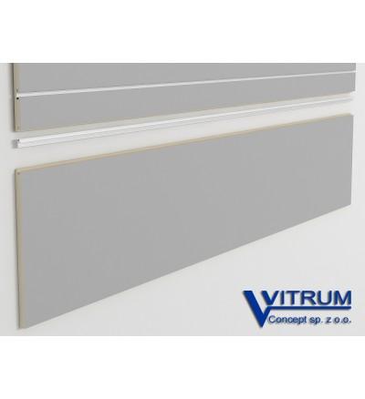 Panel ścienny cokołowy metalic 200x45 cm